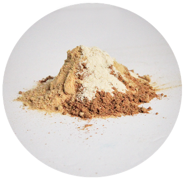 mound of brownish powder-Sunn Moon Relaxer